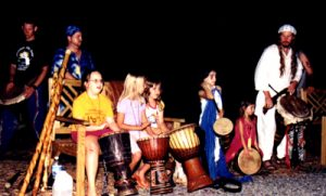 Tuatha Drum Circle with Children
