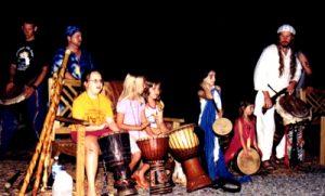 Tuatha Drum Circle with Children