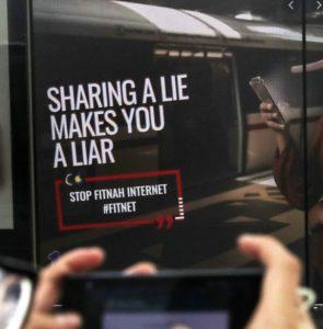 Sharing a Lie Makes you Liar